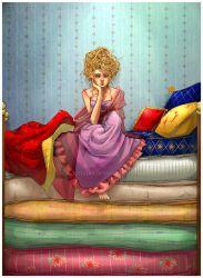 The Princess and the Pea by Alicechan