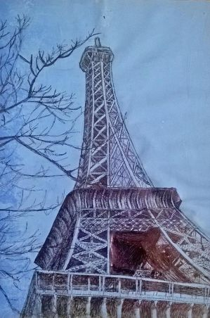 Eiffel Tower by hannahmo61