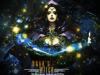 [SHARE PSD] Book's witch by TP4ever
