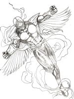 New Darkhawk by beamer