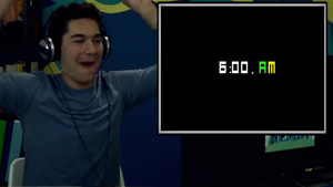 React's Sam Dancing To 6:00 AM (GIF) by g9cfan