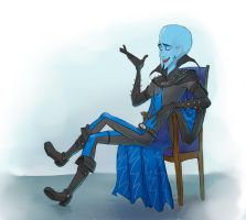 Megamind's interview by LordSiverius