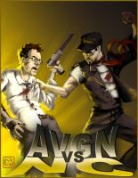AVGN vs NC Poster by Startaft33