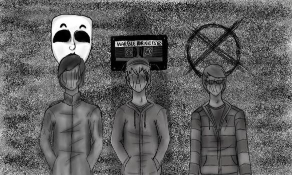 Marble Hornets by darksk3tch