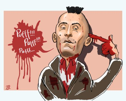 Puff! puff! - Robert De Niro in Taxi Driver by Mohammad222