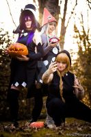 SE: The witches by TreeloCosplay