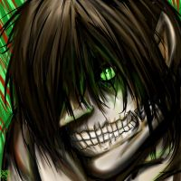 Eren TItan by Checker-Bee