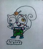 Nutty In Clothes by SquirrelCat1998V2