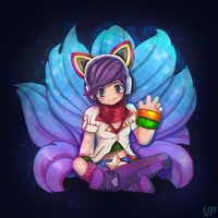 Arcade Ahri by YellowVampy