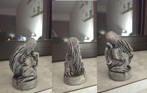 Black Brotherhood Cthulhu Idol by prtrooper