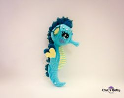 Scout the Seahorse by Crocsbetty
