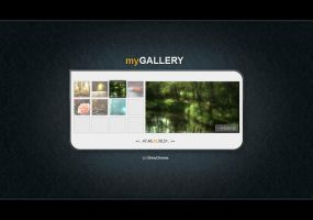 Minimalistic gallery by Macilot