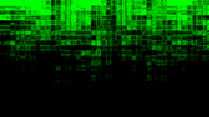 Intensely Green Chaos Wallpaper by DefectiveDre