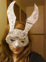 Bioshock Bunny Splicer mask by Suruh