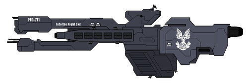 UNSC Light Frigate by EyeInTheSky118