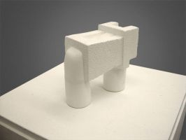 Plaster, Texture and Form by unshakentomato