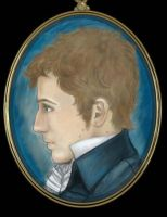 Portrait Miniature: Jacob by janey-jane