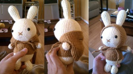 Amigurumi Chocolate Bunny by minhdo