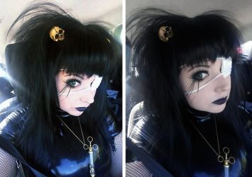Violet_Spider old school goth by Violet-Spider