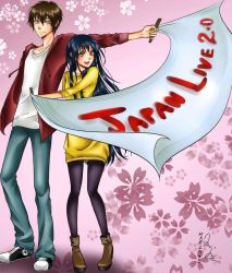 Japan Live: Mike and Emi by Mari945