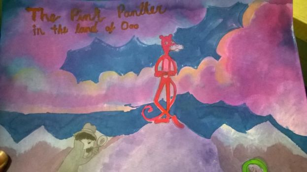 The Pink Panther in the Land of Ooo by PineapplesAreReal