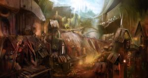 Slums in the Capital 2210 by skian-winterfyre