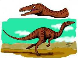COELOPHYSIS CLASICO by jorgearagon