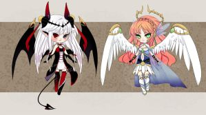 [Close] Auction Demon-Angel Adoptable by DiWine-Waro