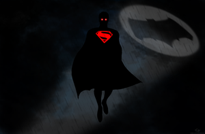 Batman v Superman - The Man of Steel by Gabriel-Carati