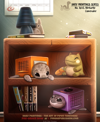 Daily Painting 1645# - Ninturtle Gamecube by Cryptid-Creations