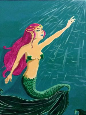 Mermaid by Hands-of-a-Pirate