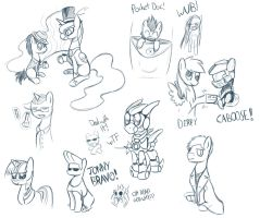 Stream doodles 2/26/2013 by CyberToaster