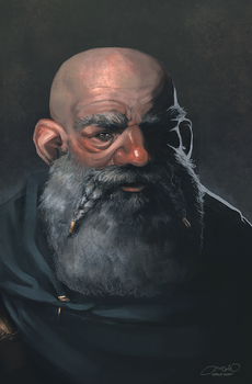 Dwarf Portrait by ApricotKnight