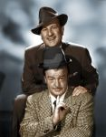 Abbott and Costello Colorized by JRAbneyart