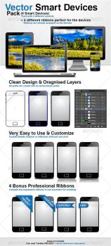 Vector Smart Devices Pack by Crealextion