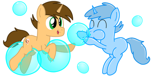 Fun with bubble doubles by BladeDragoon7575