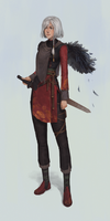 Character design commission :3 by akira-jw