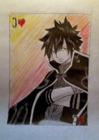 fairy tail, Gray playcard by lea33