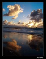 sunrise reflections by paulmp