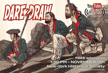 Dare2Draw with Brian Wood 11/11 Veterans Day FREE by Dare2Draw