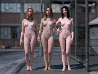 The Three Graces by LapinDeFer