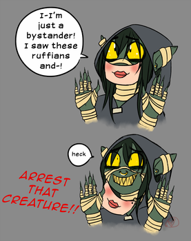 CR: The One Where Nott Gets Arrested (Again) by RyuRedwings