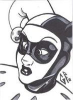 SketchCard: Harley Quinn_1 by Axigan