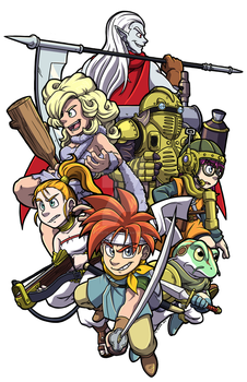 Chrono Trigger by forte-girl7