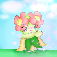 Bellossom~ (Redraw) by bfdifan123