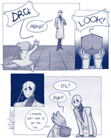 Alphys' Invention - 1 by Riplae