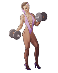 Athletic Sombra by Superstrongbabes