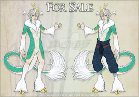 (SOLD) Male Kirin Character by sphynxpunk
