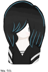 Lucy Loud (MS Paint) by ArtGothGirlXO