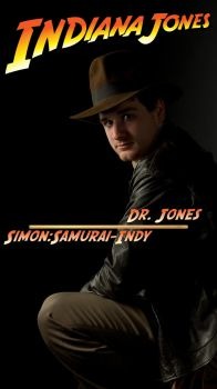 Indiana Jones - Portait by DataSavage